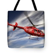 Polar First Helicopter Tote Bag