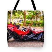 Polaris Slingshot Sl Tricycle Tote Bag