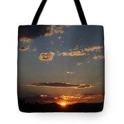 Polarized Sunset  Tote Bag