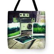 Polaroid Land 320 Tote Bag
