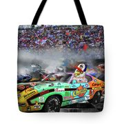 Pole Position Tote Bag