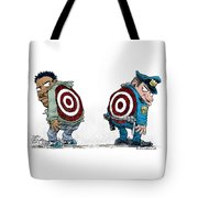 Police And Black Folks Are Targets Tote Bag