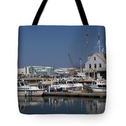 Police Station Tote Bag
