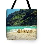Polihale Aloha Tote Bag