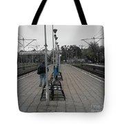 Polish Train Station Tote Bag