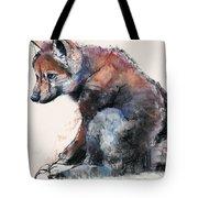 Polish Wolf Pup Tote Bag