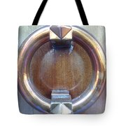 Polished Door Knocker Tote Bag