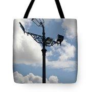 Polite Lamppost Tote Bag