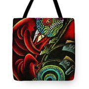 Political Chameleon Tote Bag