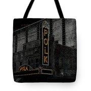 Polk Movie House Tote Bag