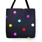 Polka Dot Umbrella Tote Bag