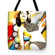 Polka Dottie Tote Bag