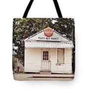 Polk's Meat Market Tote Bag