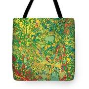 Pollack Green Tote Bag