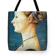 Pollaiuolo: Young Woman Tote Bag