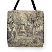 Pollard Birches Nuenen  March 1884 Vincent Van Gogh 1853  1890 Tote Bag