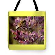 Pollen Bees Tote Bag