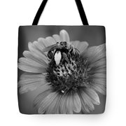 Pollen Collector Bw Tote Bag