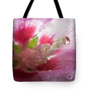 Pollen Droplet Tote Bag
