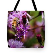 Pollen Powdered Bee Tote Bag