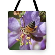 Pollinating 4 Tote Bag
