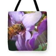 Pollinating 5 Tote Bag