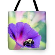 Pollinating The Glories Tote Bag