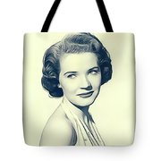 Polly Bergen, Vintage Actress Tote Bag