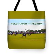Polo Match Florida Tote Bag