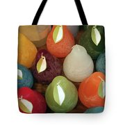 Polychromatic Pears Tote Bag by Rick Locke