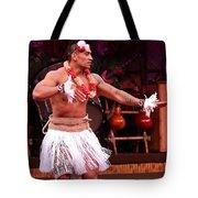 Polynesian Warrior Dancer Tote Bag