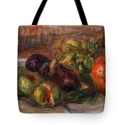 Pomegranate And Figs Tote Bag