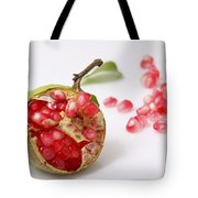 Pomegranate And Seeds  Tote Bag