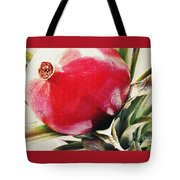 Pomegranate On A Pineapple Stalk Tote Bag
