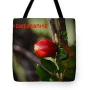 Pomegranite Art II Tote Bag