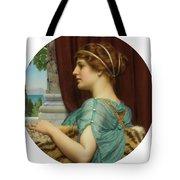 Pompeian Lady Tote Bag