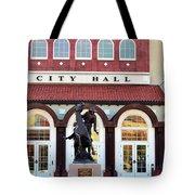Ponca City City Hall Tote Bag