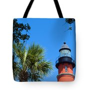 Ponce Del Leon Inlet Florida Tote Bag