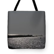 Ponce Inlet Pier Tote Bag