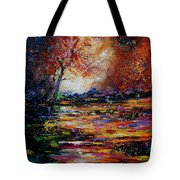 Pond 671254 Tote Bag