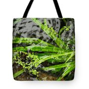 Pond Abstract II Tote Bag