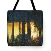Pond And Euro Garden Tote Bag