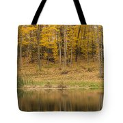 Pond And Woods Autumn 1 Tote Bag