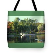 Pond At Mae Stecker Park In Shelby Township Mi  Tote Bag