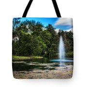 Pond At Spring Grove Tote Bag