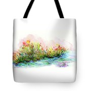 Sunrise Pond Tote Bag by Lauren Heller