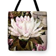 Pond At Water House Tote Bag