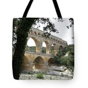 Pond Du Gard II Tote Bag
