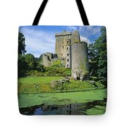 Pond In Front Of A Castle, Blarney Tote Bag