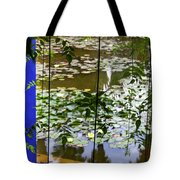 Pond In Marrakesh Tote Bag